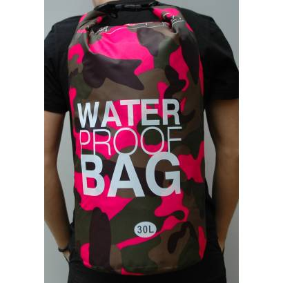Water proof Dry bag 30L Military roze
